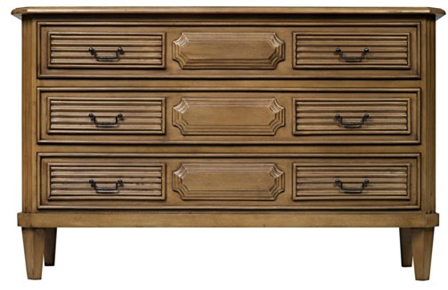 Z Radfort Dresser, Saddle Brown