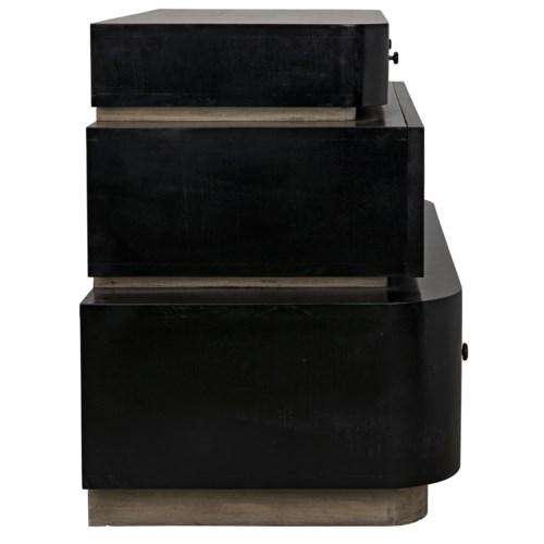 Lector Dresser, Hand Rubbed Black