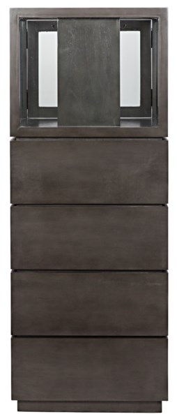 Z Sancho Jewelry Cabinet, Pale