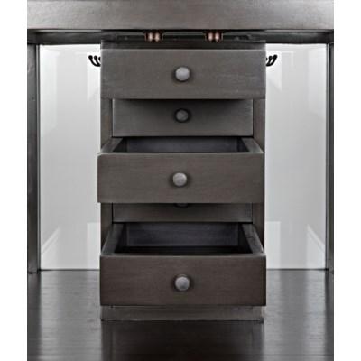 Z Sancho Jewelry Cabinet, Pale