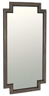 Niza Mirror, Distressed Grey