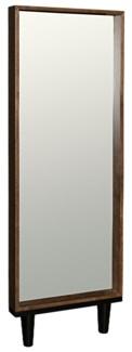 Freud Mirror, Dark Walnut