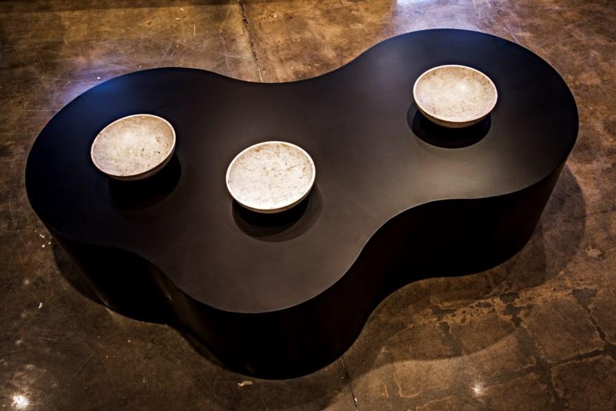 Island Coffee Table, Metal