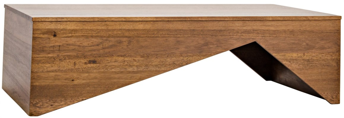 Daiki Coffee Table, Dark Walnut