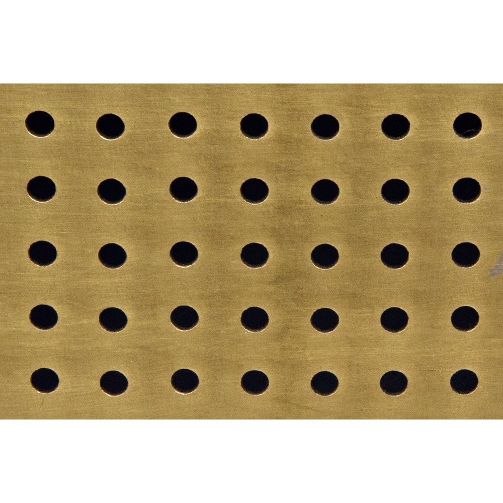 Che Cocktail Table, Antique Brass, Steel and White Marble