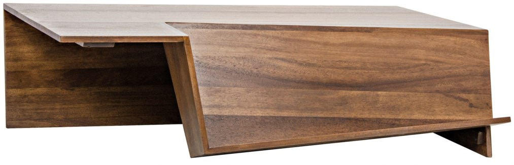 Prisma Coffee Table, Dark Walnut