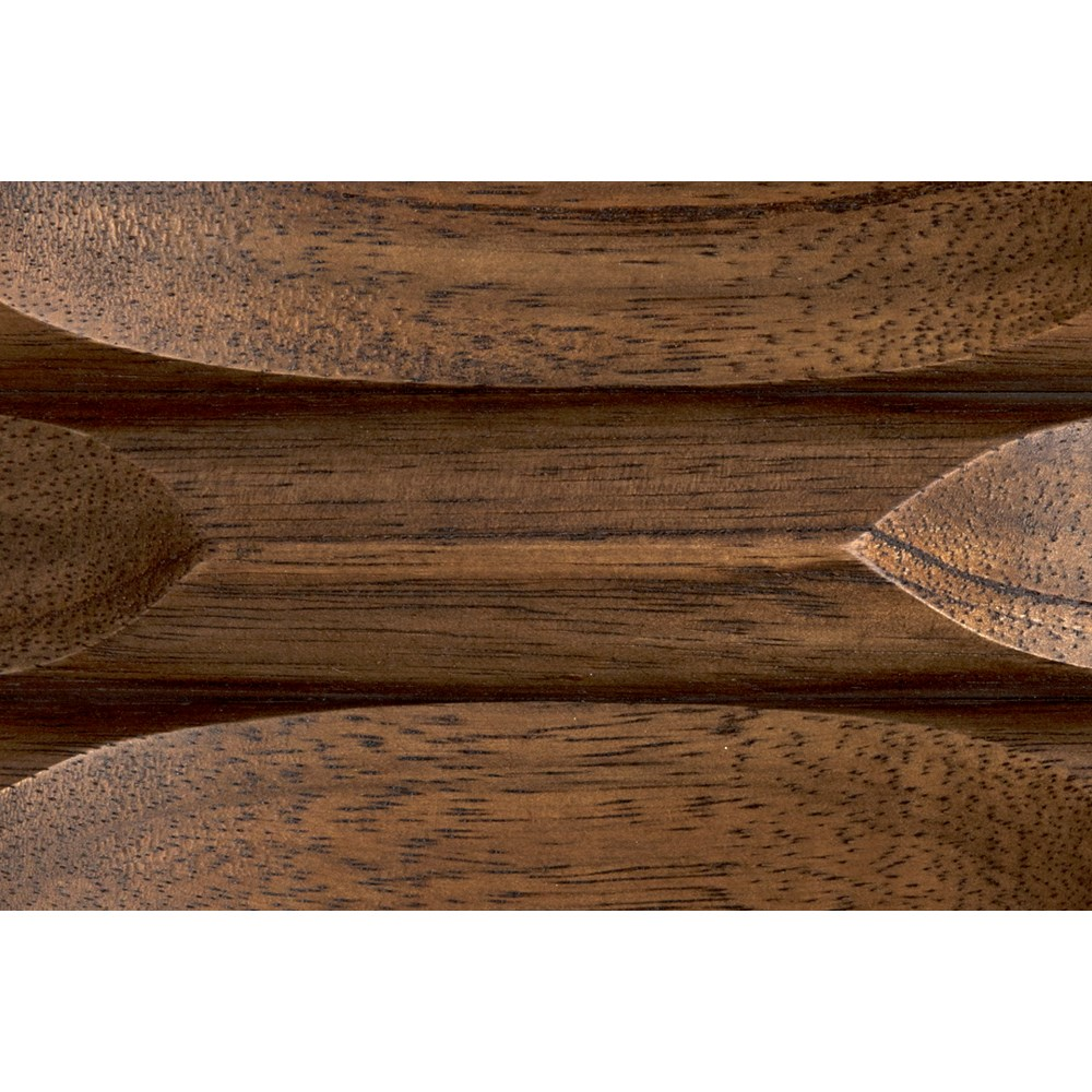 Boogie Cocktail Table, Dark Walnut, Walnut and Steel