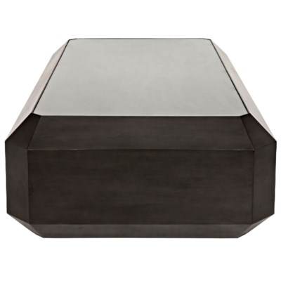 Emerald Cut Coffee Table, Pale