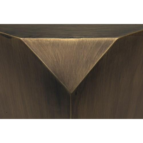 Tytus Coffee Table, Metal w/Aged Brass Finish