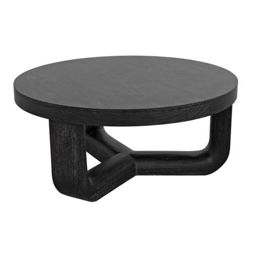 Joel Coffee Table, Cinder Black
