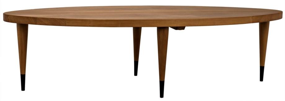 SL Coffee Table, Gold Teak
