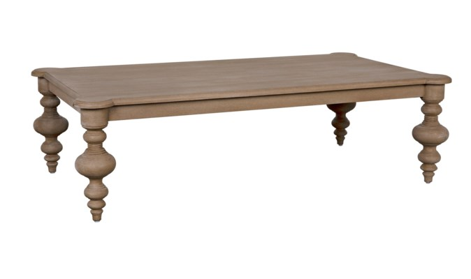 QS Graff Coffee Table, Weathered
