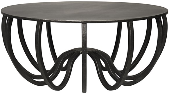 Cambell Coffee Table, Metal