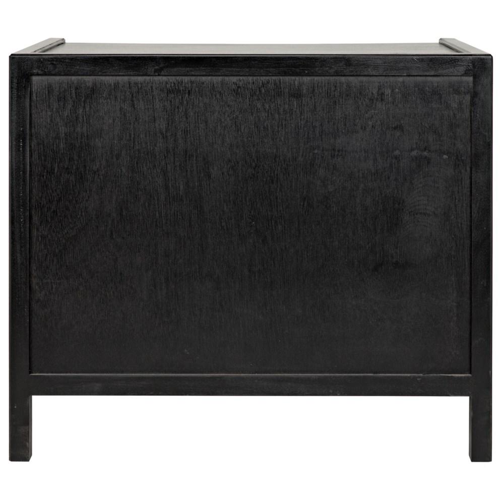 Hampton Side Table, Hand Rubbed Black