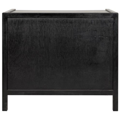 Hampton Side Table, Hand Rubbed Black