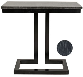 Alonzo Side Table w/Marble