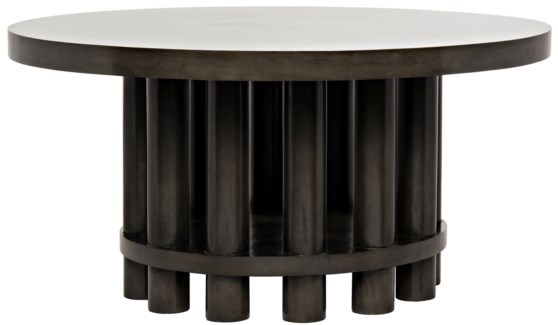 Hiro Dining Table, Pale