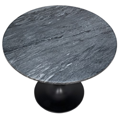 "Laredo 36"" Bistro Table with Black Stone Top"