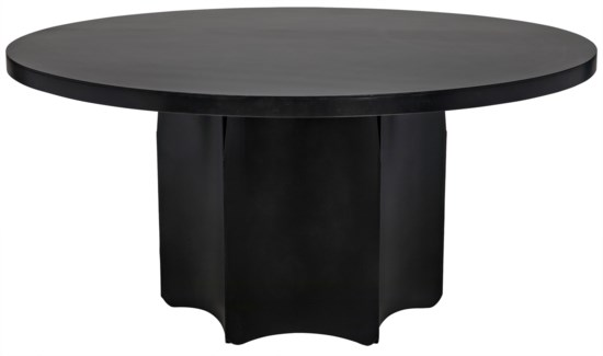 Rome Dining Table, Metal