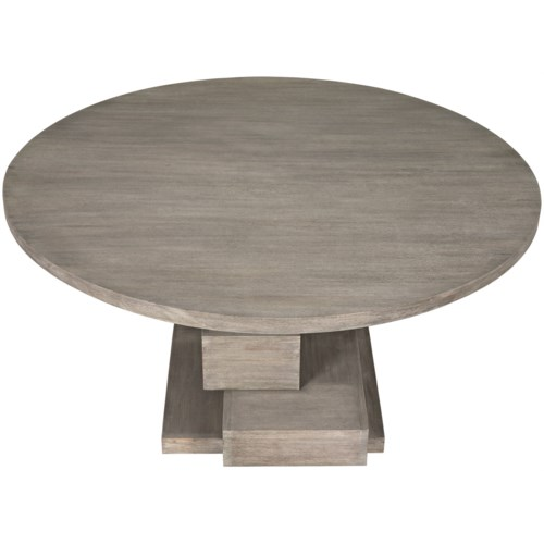 Hancock Dining Table, Distressed Grey