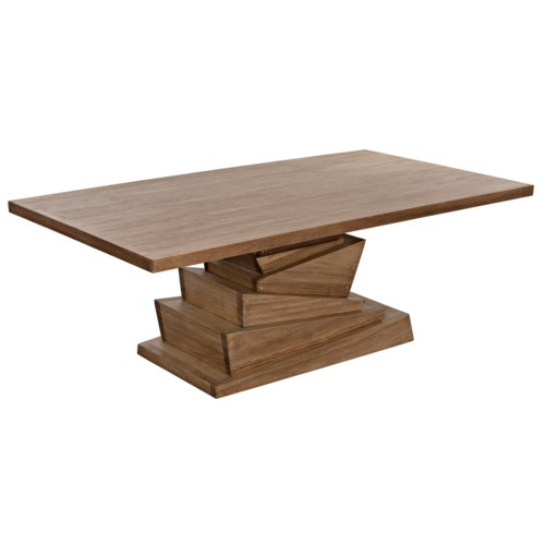 Musala Dining Table, Washed Walnut