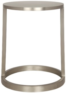 Z Tyler Side Table, Antique Silver