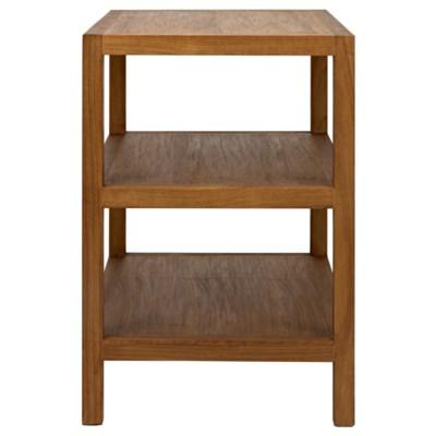 SL9 Side Table, Gold Teak