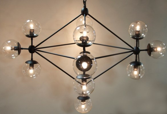 QS Pluto Chandelier, Small