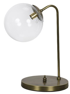 Knick Table Lamp, Antique Brass