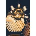 Mine Pendant, Antique Brass