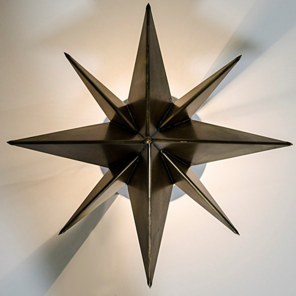 Star Sconce, Metal