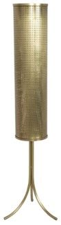 Holder Floor Lamp, Antique Brass