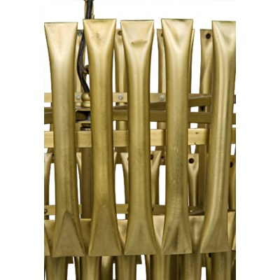 Lord Chandelier, Antique Brass