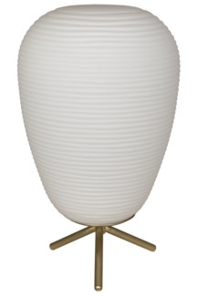 Foma Table Lamp, Antique Brass