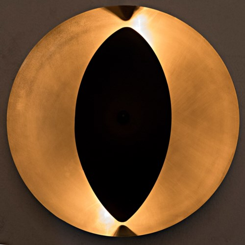 Bengal Sconce, Metal w/Brass Finish