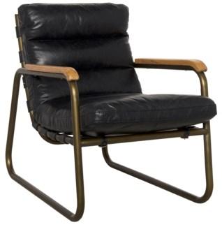 Cowhide Arm Chair