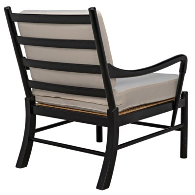 Kevin Chair, Hand Rubbed Black