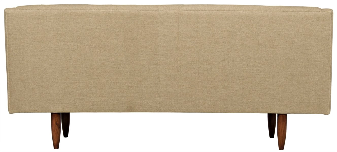 Reynolds Sofa, Tufted, Linen