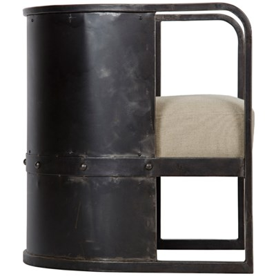 Joseph Chair, Metal