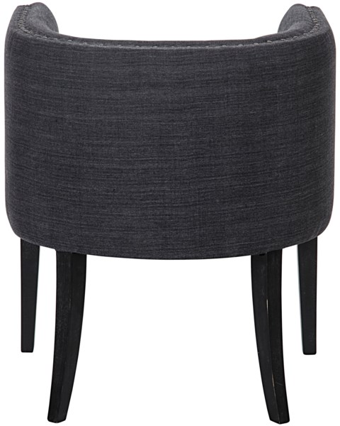 Dede Lounge Chair, Hand Rubbed Black