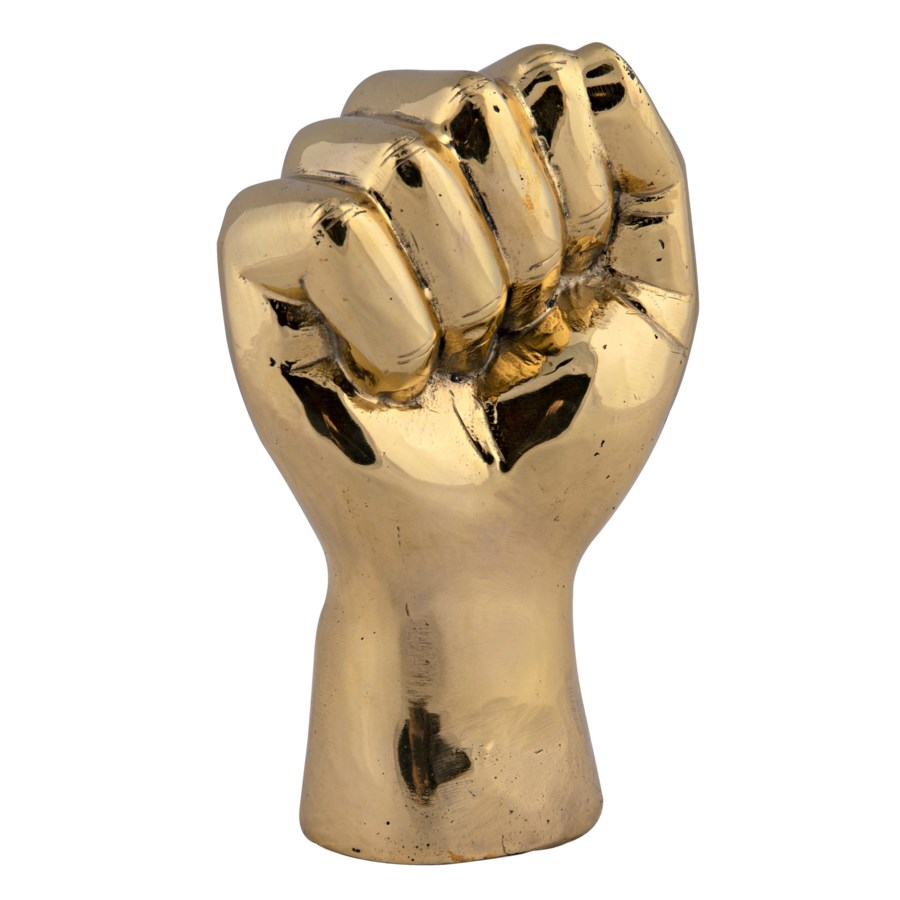 The Solidarity Fist, Brass