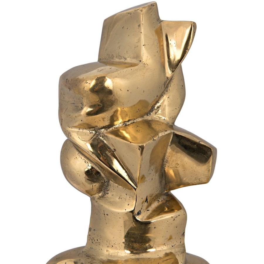Member Statue, Brass