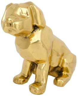 Sitting Dog, Brass