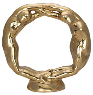 Wreath Of Figures, Brass