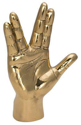 Vulcan Hand Sign, Brass