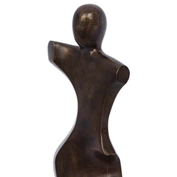 Isa Statue, Brass, Antique Finish As Shown