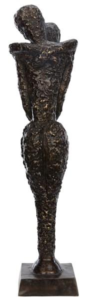 Sabana Statue, Brass, Antique Finish As Shown