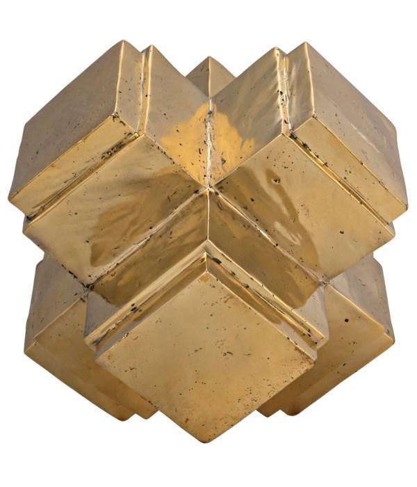 Swiss Object, Brass