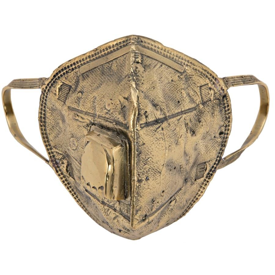 N95 Mask 2, Brass