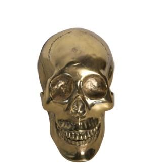Small Skull, Brass